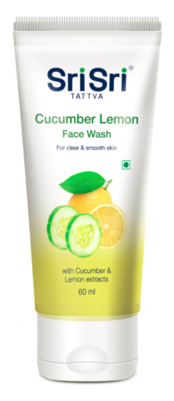 Sri Sri Tattva Cucumber & Lemon Face Wash