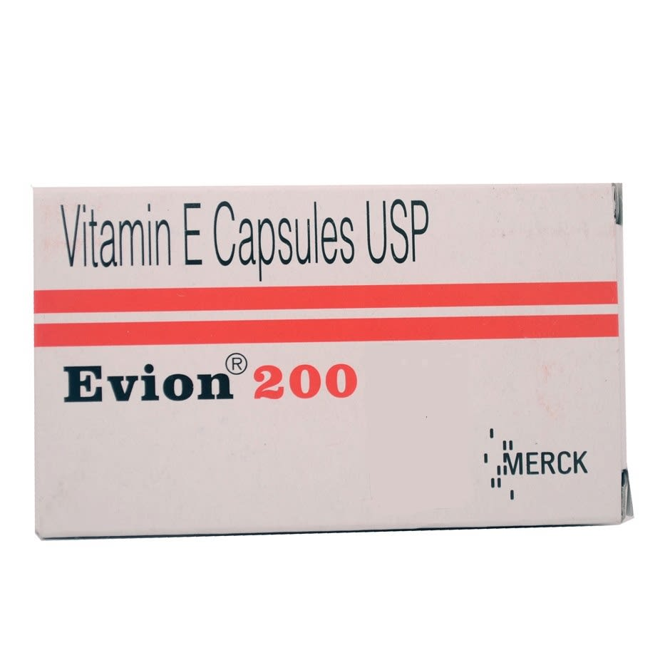 Evion 200mg Capsule Pack of 8