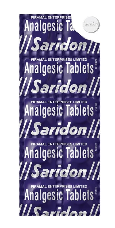 Saridon Tablet
