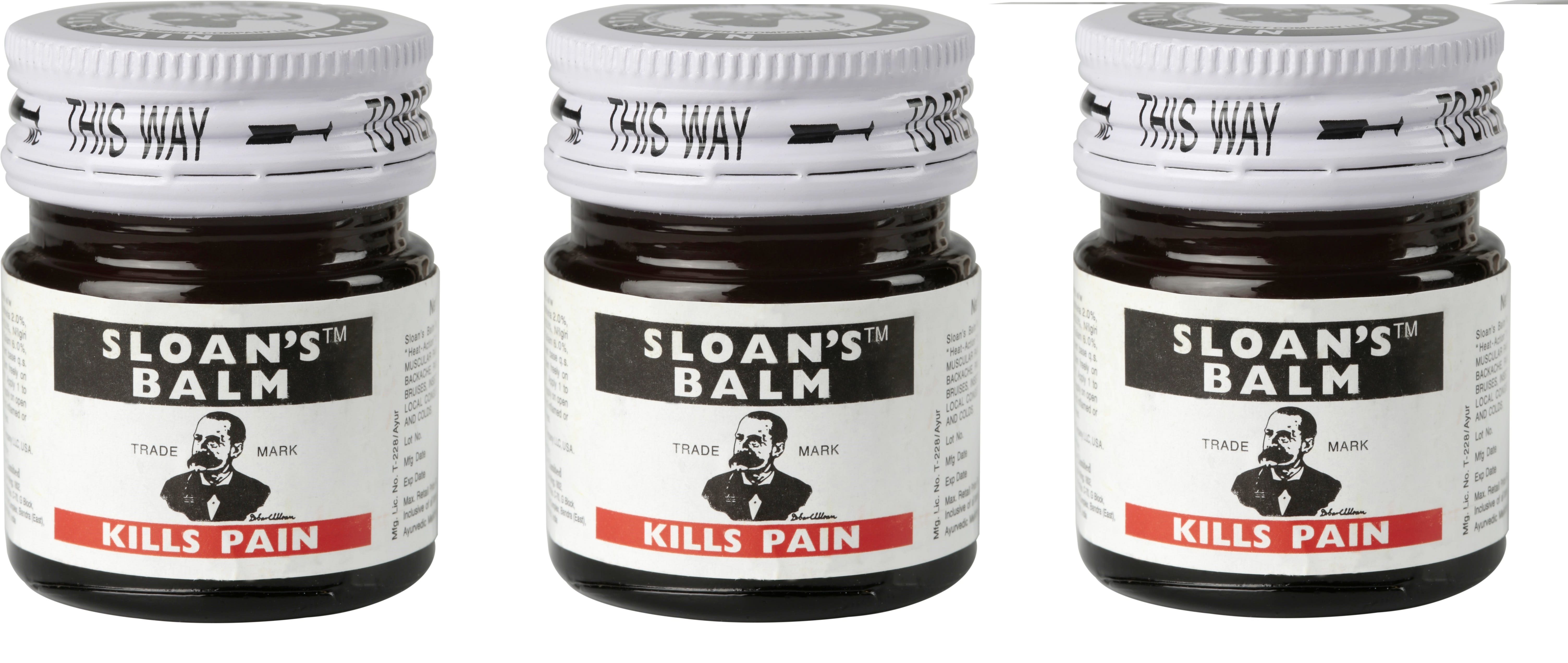 Sloan's Balm Pack of 3