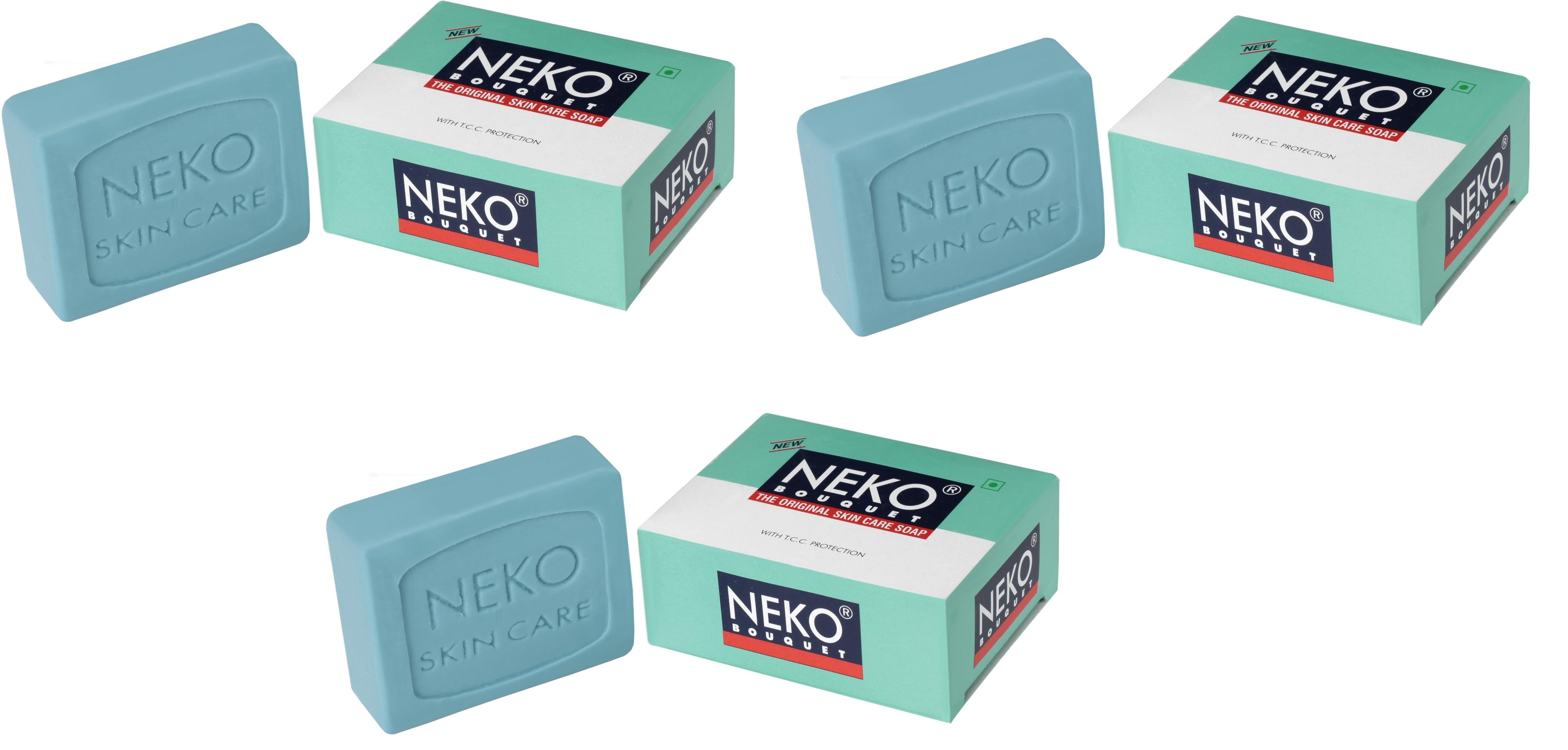 Neko Bouquet Soap Pack of 3