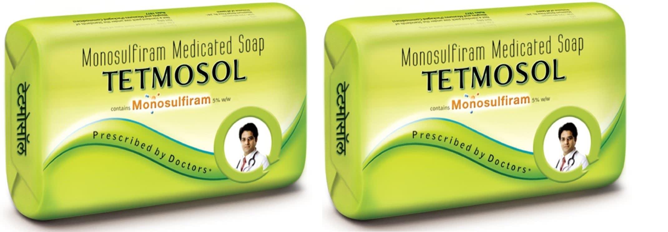 Tetmosol Medicated Soap Pack of 2