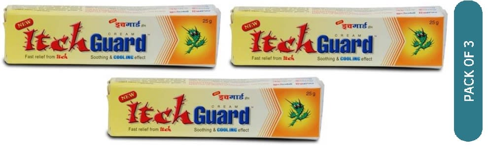 Itch Guard Cream Pack of 3