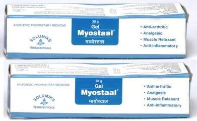 Solumiks Myostaal Gel Pack of 2