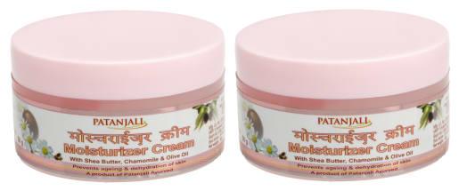 Patanjali Ayurveda Moisturizer Cream Pack of 2