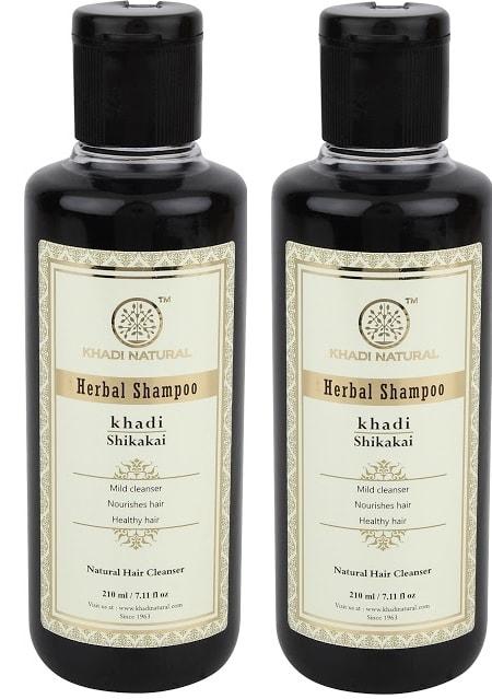 Khadi Naturals Shikakai Herbal Shampoo Pack of 2