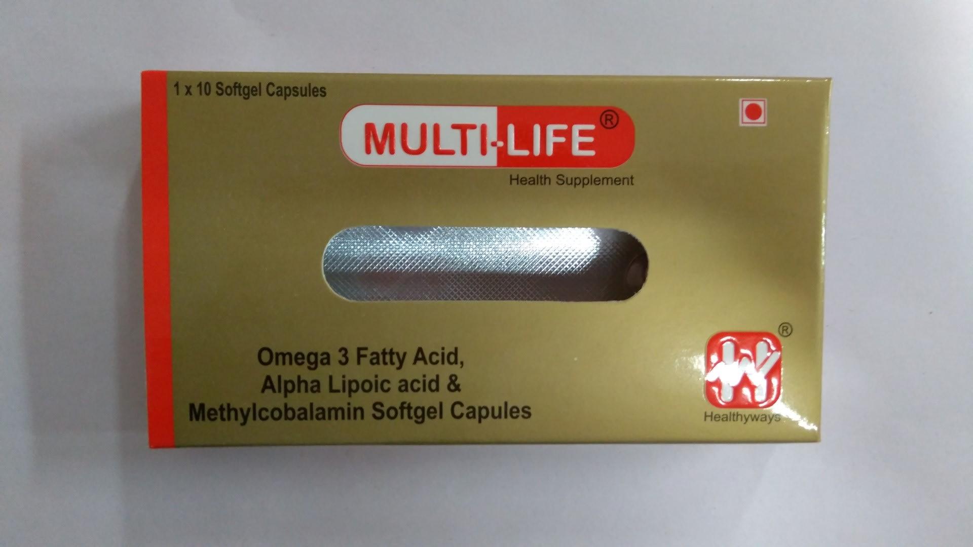 Multi-Life Capsule