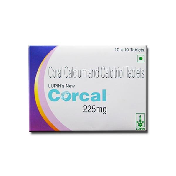 Corcal 225mg Tablet
