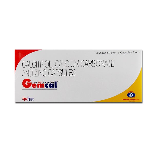 Gemcal Soft Gelatin Capsule