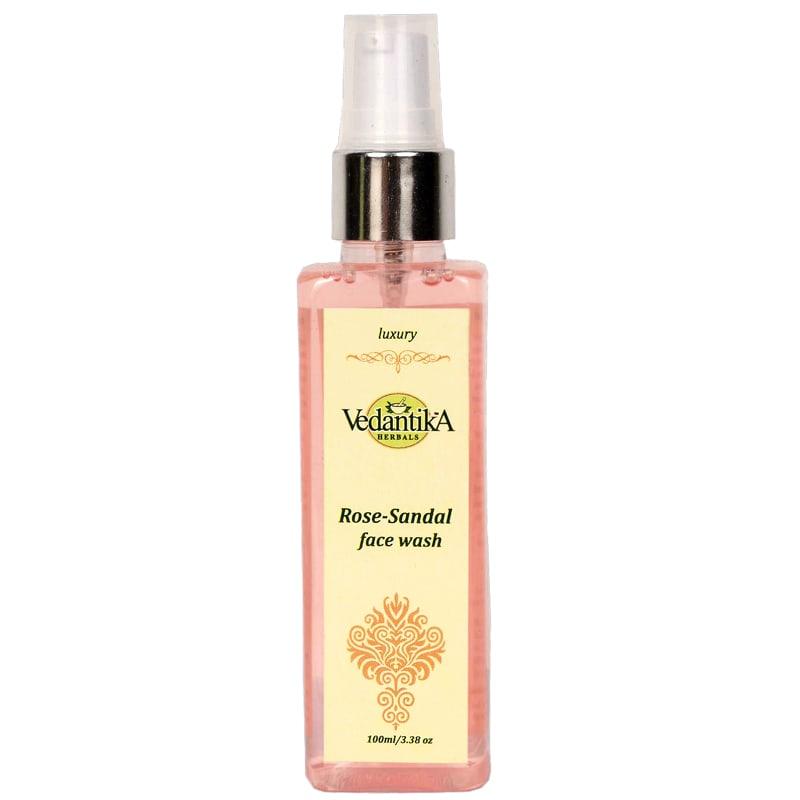 Vedantika Herbals Rose-Sandal Face Wash