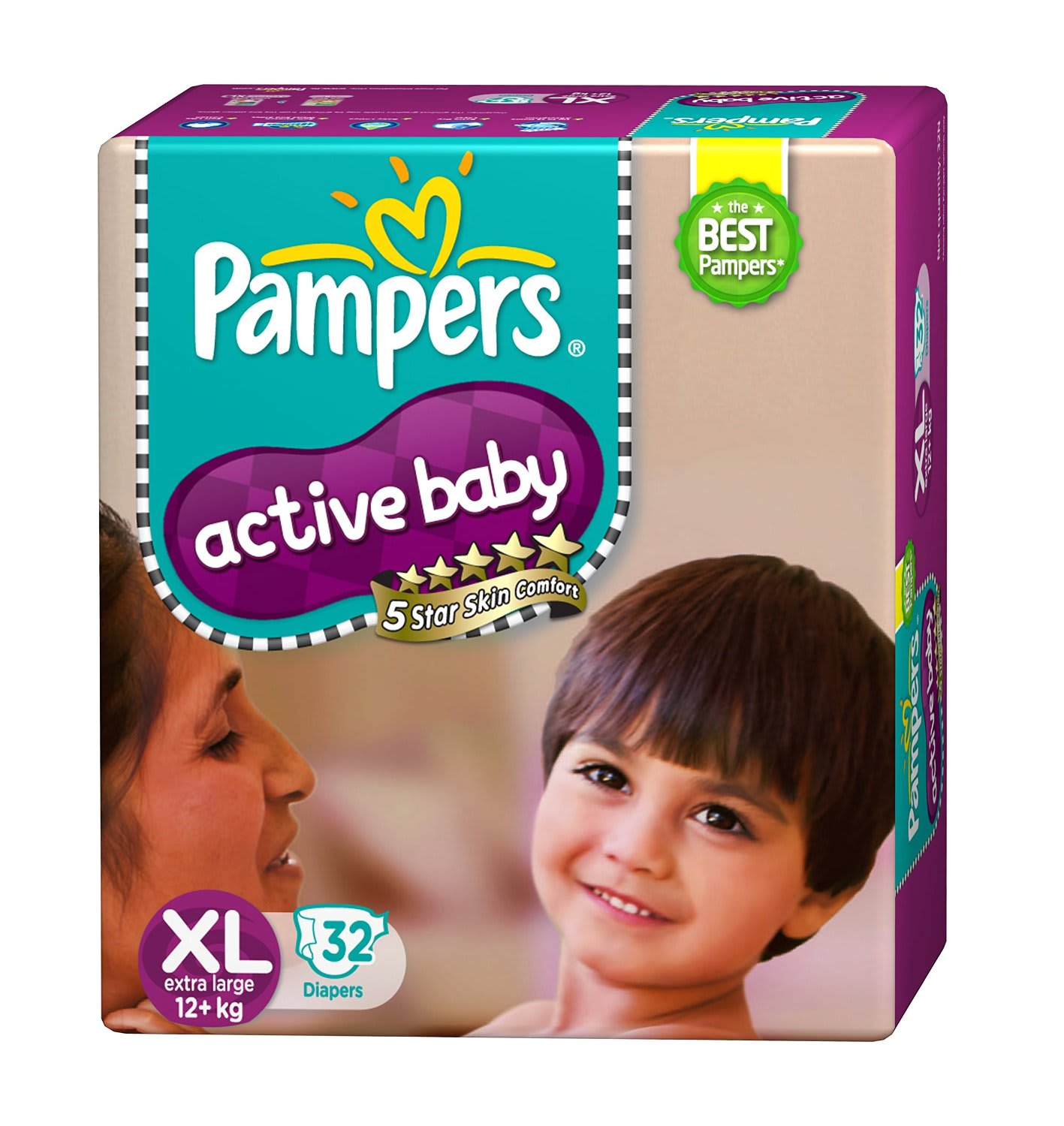 Pampers Active Baby Diaper XL