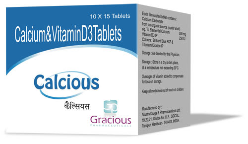 Calcious Tablet