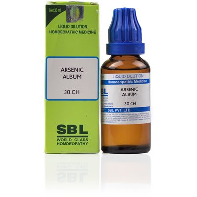 SBL Arsenic Album Dilution 30 CH