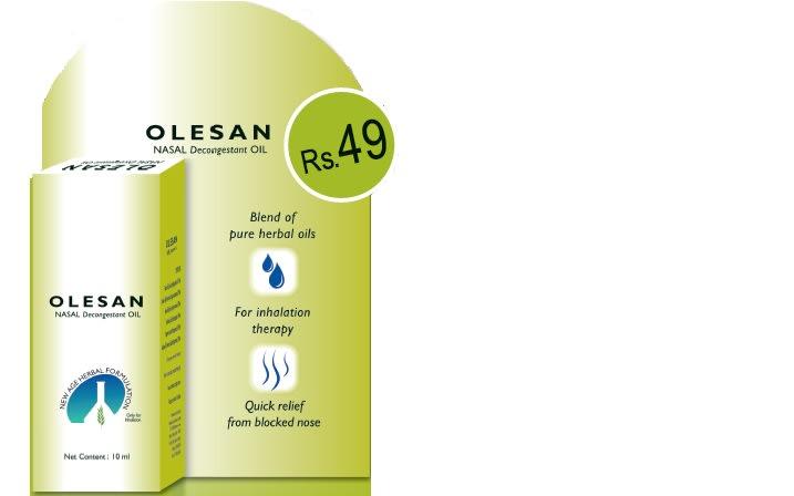 Olesan Nasal Decongestant Oil
