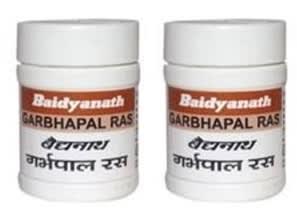 Baidyanath Garbhpal Ras Tablet Pack of 2