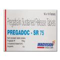 Pregadoc  NT 75mg/10mg Tablet