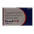 Piomed M 15 mg/500 mg Tablet