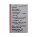 Clopigrel 75mg Tablet