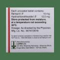 Ramistar-H 10 Tablet