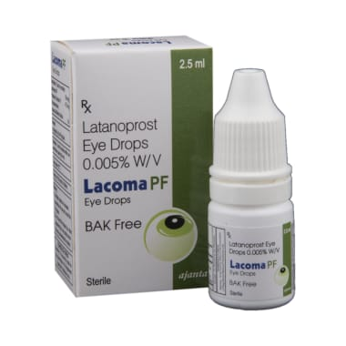 Lacoma PF Eye Drop BAK Free