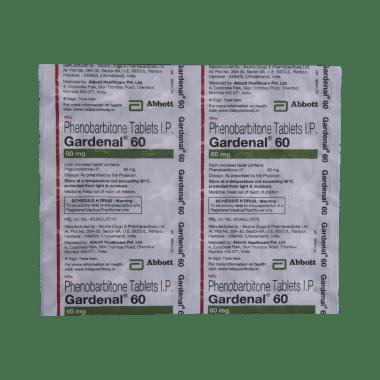 Gardenal 60 Tablet