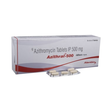 Azithral 500 Tablet
