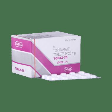 Topaz 25 Tablet