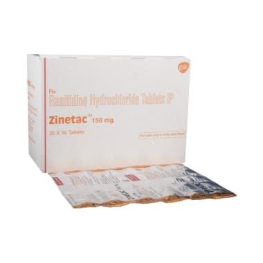 Zinetac 150mg Tablet