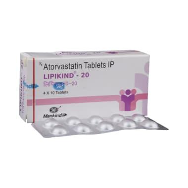 Lipikind 20 Tablet