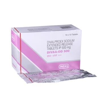 Divaa -OD 500 Tablet ER
