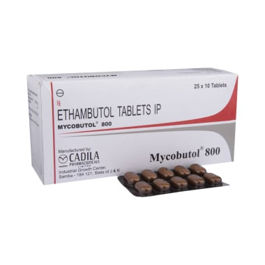 Mycobutol 800 Tablet