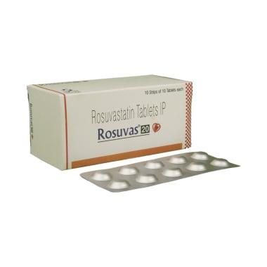 Rosuvas 20 Tablet