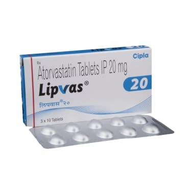 Lipvas 20 Tablet