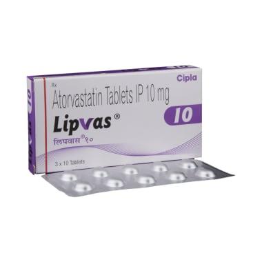 Lipvas 10 Tablet