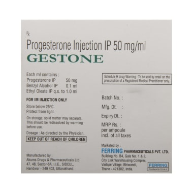 Gestone Injection