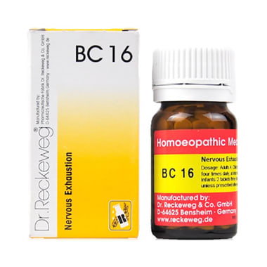 Dr. Reckeweg Bio-Combination 15 (BC 15) Tablet: Buy bottle of 20 ...