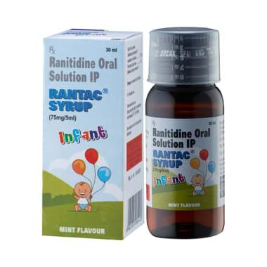Rantac Infant Mint Syrup