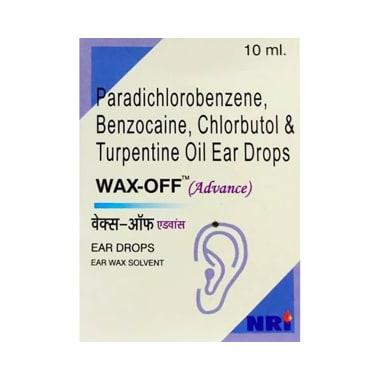 Wax-Off Advance Ear Drop