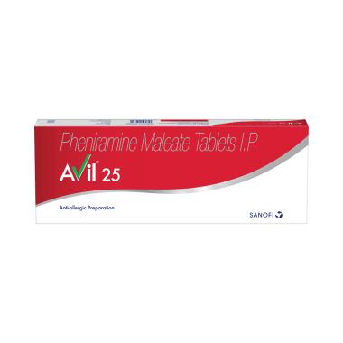 Avil 25 Tablet