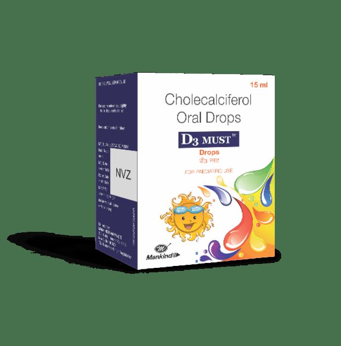 D3 Must Oral Drops