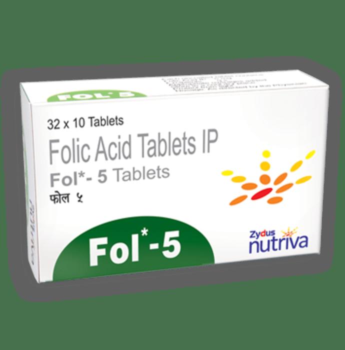Fol  - 5 Tablet