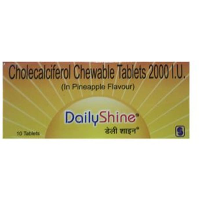 Daily Shine 2000IU Tablet