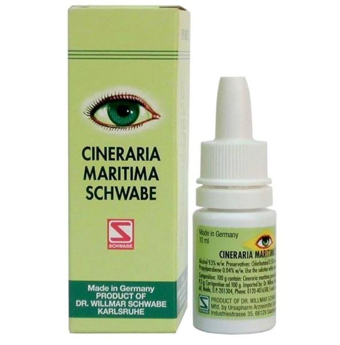 Dr Willmar Schwabe Germany Cineraria Maritima Eye Drop