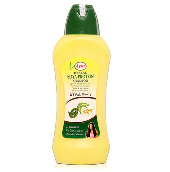 Ayur Herbal Soya Protein Shampoo