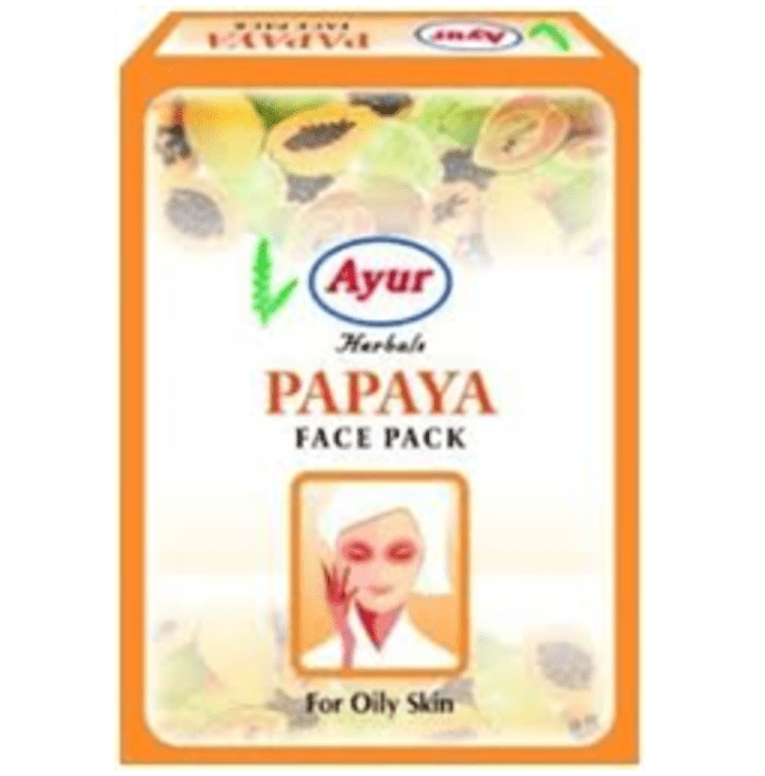 Ayur Papaya Face Pack