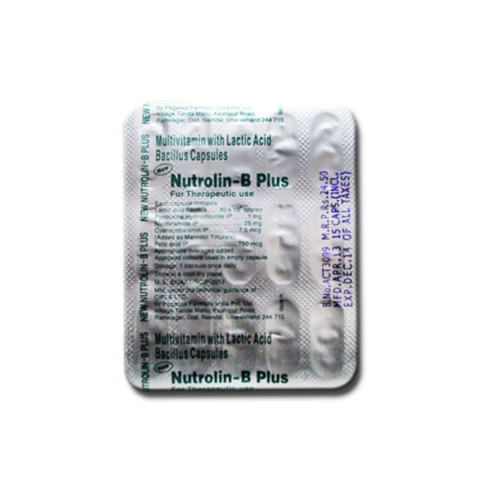 Nutrolin-B Plus (New) Capsule