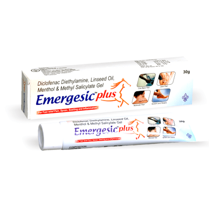 Emergesic Plus Gel