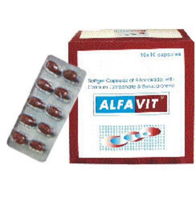 Alfavit Soft Gelatin Capsule