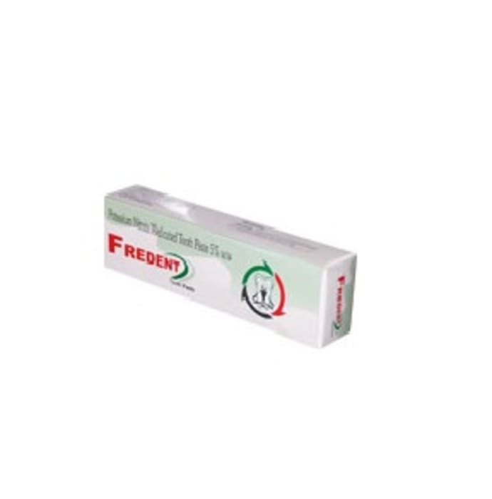 Fredent Toothpaste