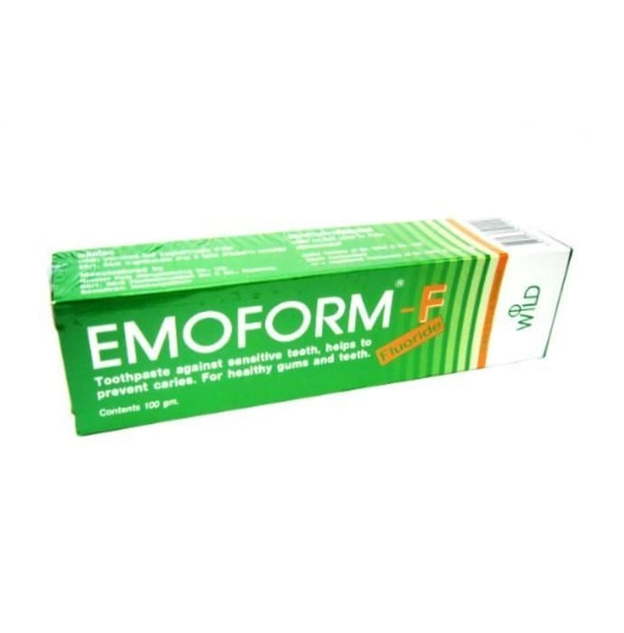 Emoform F Toothpaste